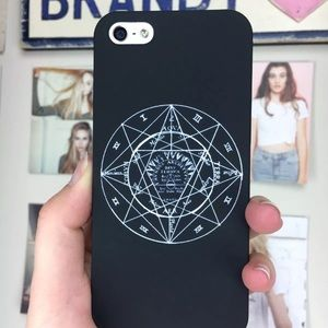 Brandy melville astrology phone case 5 5s
